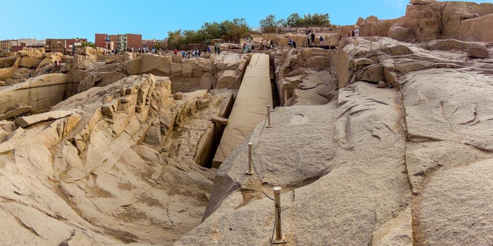 Den unvollendeten Obelisken - Ausflug nach Assuan und Abu Simbel von Hurghada - Tours from Hurghada