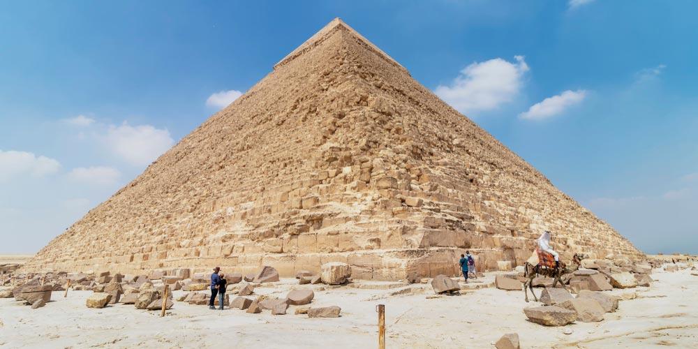 Die Pyramiden von Gizeh - Ägypten Highlights von Makadi - Tours from Hurghada