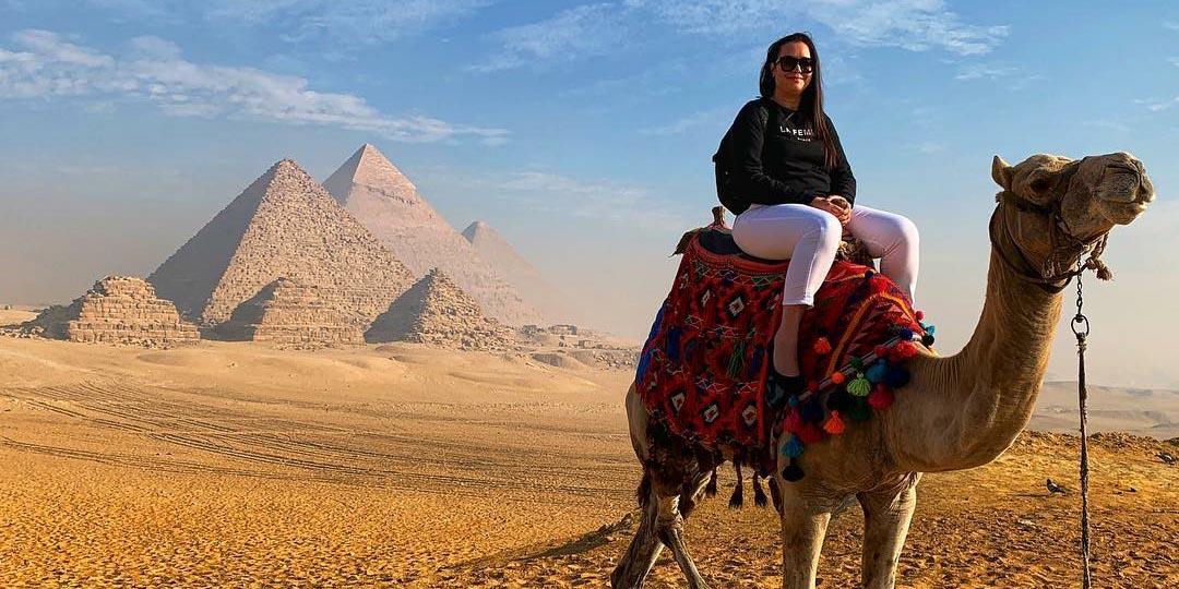 Die Pyramiden von Gizeh - 2 Tägiger Ausflug nach Kairo von EL Gouna - Tours from Hurghada