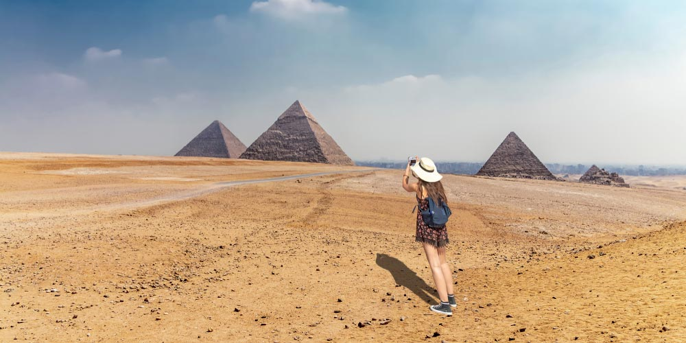 Die Pyramiden von Gizeh - 2 Tägiger Ausflug nach Kairo von Makadi - Tours from Hurghada