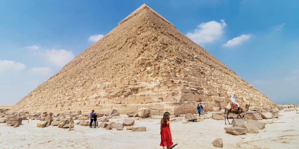 Die Pyramiden von Gizeh - Ausflug nach Kairo vonEl Gouna mitFlug - Tours from Hurghada