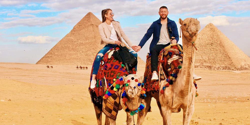 Die Pyramiden von Gizeh - Ausflug nach Kairo von Hurghada mitFlug - Tours from Hurghada