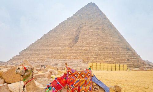 Die Pyramiden von Gizeh - Ausflug nach Kairo vonMakadi mitFlug - Tours from Hurghada