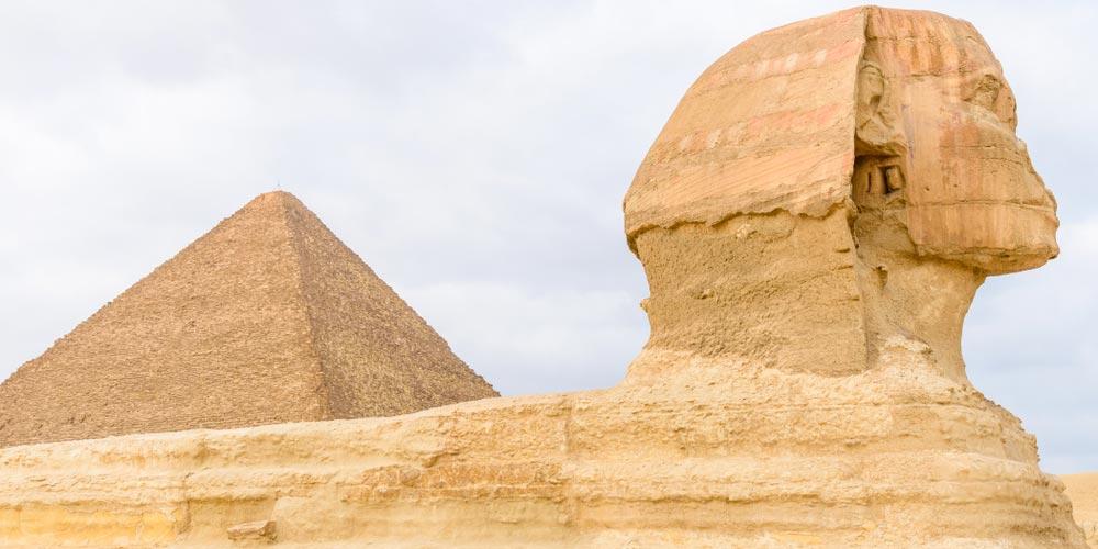 Die Sphinx - Ägypten Highlights von Makadi - Tours from Hurghada