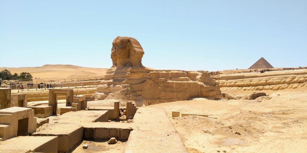 Die Sphinx - 2 Tägiger Ausflug nach Kairo und Luxor von EL Gouna mit Flug - Tours from Hurghada
