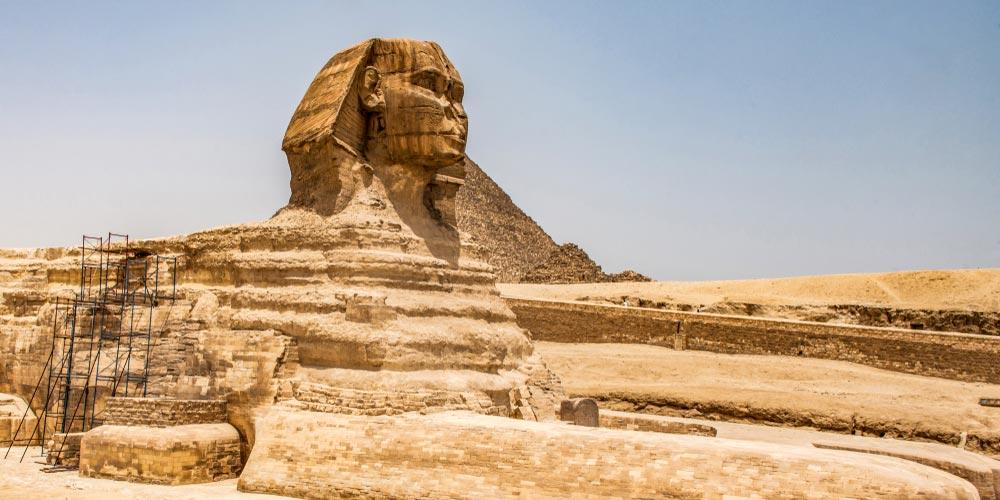 Die Sphinx - 2 Tägiger Ausflug nach Kairo von Makadi - Tours from Hurghada