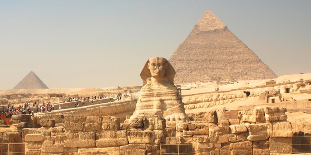 Die Sphinx - Ausflug nach Kairo vonEl Gouna mit Einem Fahrzeug - Tours from Hurghada