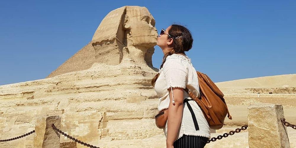 Die Sphinx - Ausflug nach Kairo von Hurghada mitFlug - Tours from Hurghada