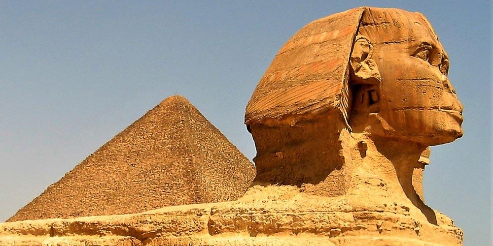 Die Sphinx - Ausflug nach Kairo vonMakadi mitEinem Fahrzeug - Tours from Hurghada