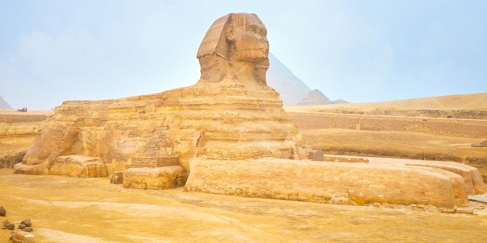Die Sphinx - Ausflug nach Kairo vonMakadi mitFlug - Tours from Hurghada