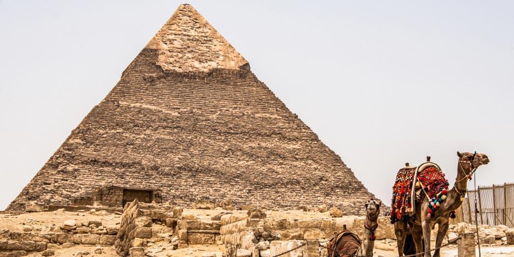 Gizeh Pyramiden - Ausflug von Hurghada nach Kairo mit Einem Fahrzeug - Tours from Hurghada