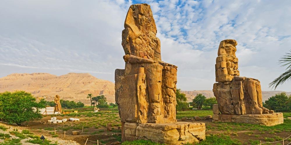 Memnon Kolosse - 2 Tägiger Ausflug Nach Luxor von Hurghada - Tours from Hurghada