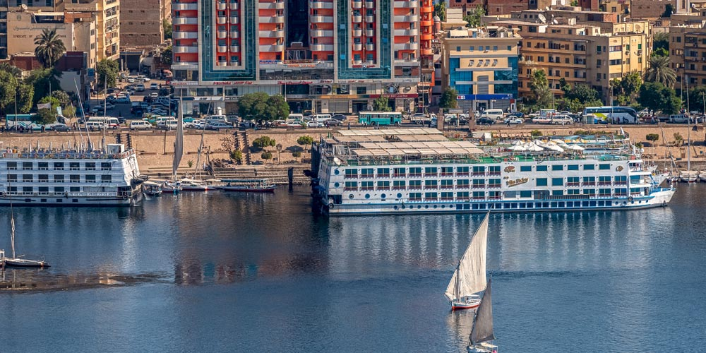 Nilkreuzfahrt - - 4 Täge Luxor und Aswan Nilkreuzfahrt von Makadi - Tours from Hurghada