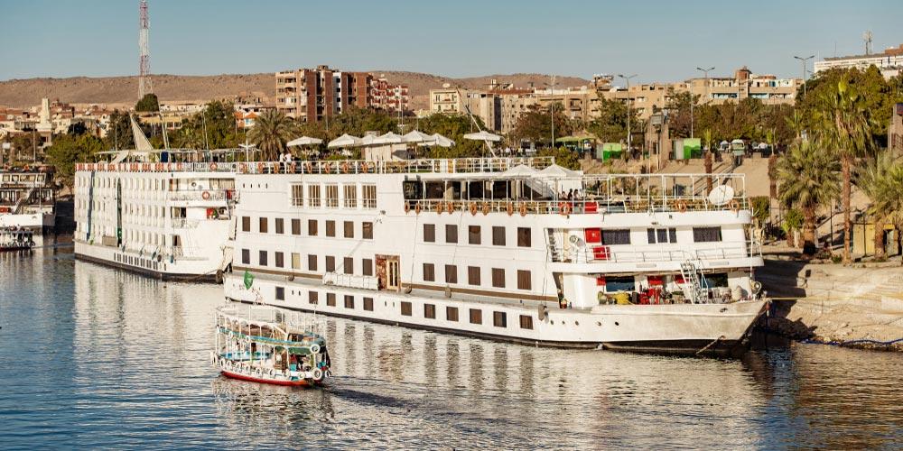 Nilkreuzfahrt - 4 Täge Nilkreuzfahrt von EL Gouna - Tours from Hurghada