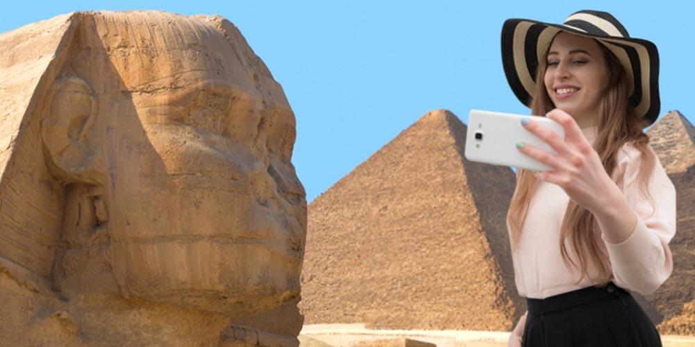 Pyramiden von Gizeh - Ausflug von Hurghada nach Kairo mit Einem Fahrzeug - Tours from Hurghada