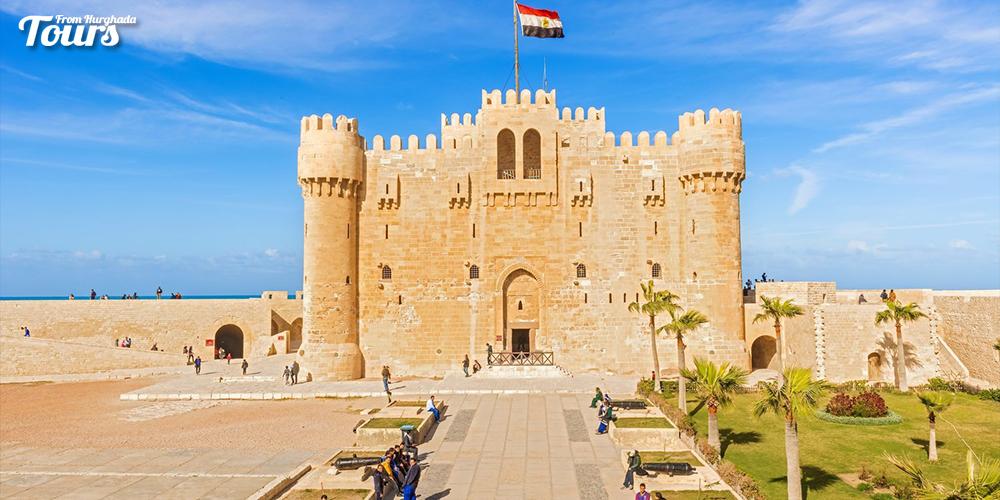 Qaitbay Citadel - Alexandria City History - Alexandria City Attractions - Alexandria Activities Tours From Hurghada