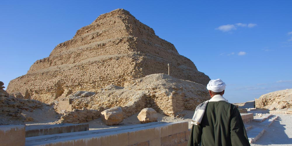 Sakkara Stufenpyramide - 2 Tage Kairo Ab Hurghada - Tours from Hurghada