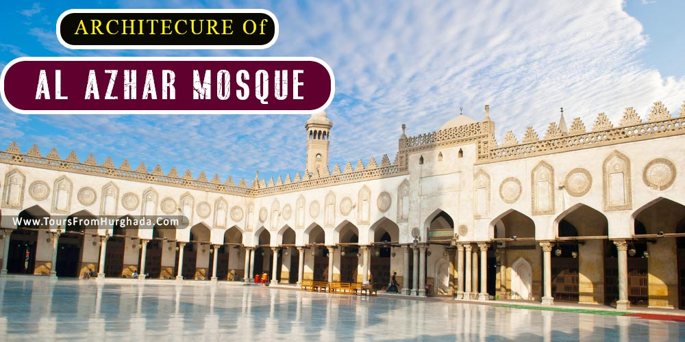 Architecture of Al Azhar Mosque - Tours from Hurghada