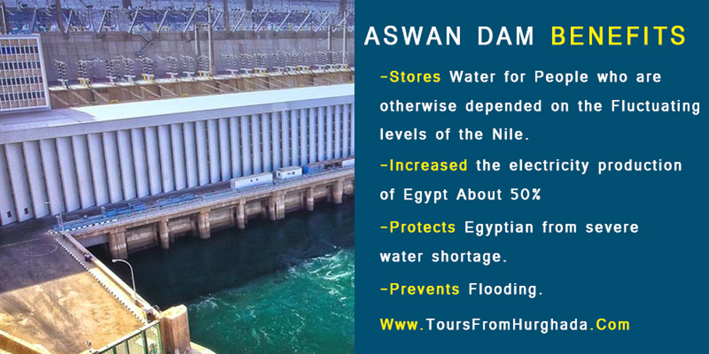 Aswan Dam Benefits - Aswan Dam - Tours from Hurghada