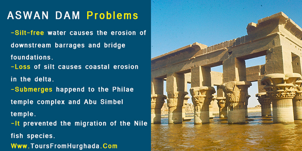 Aswan Dam Problems - Tours from Hurghada