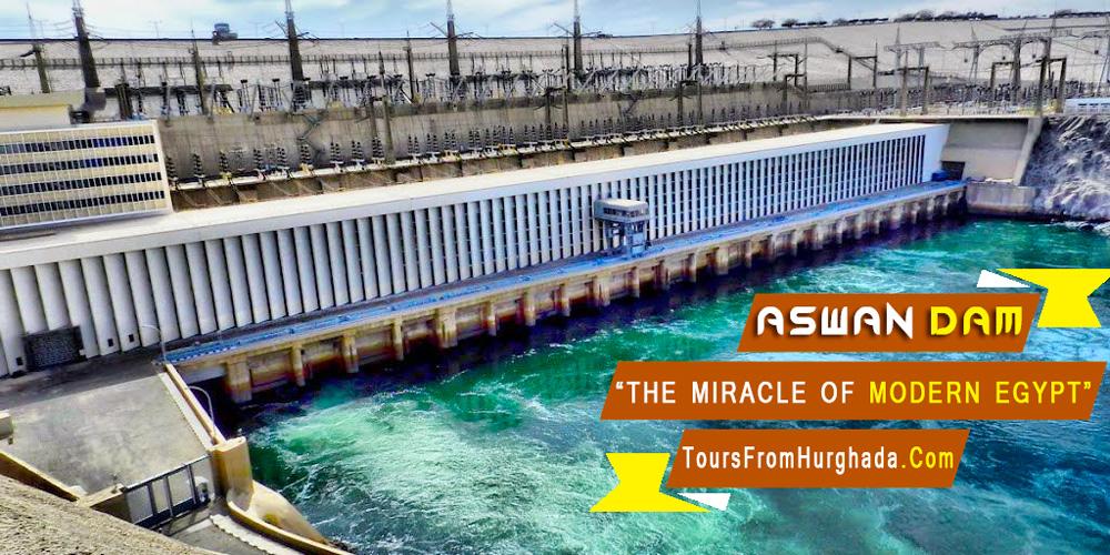 Aswan Dam - Tours from Hurghada