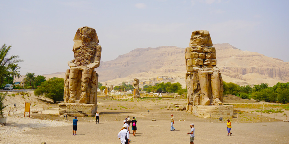 Colossi of Memnon - 2 Days Luxor & Aswan fro El Gouna - Tours from Hurghada