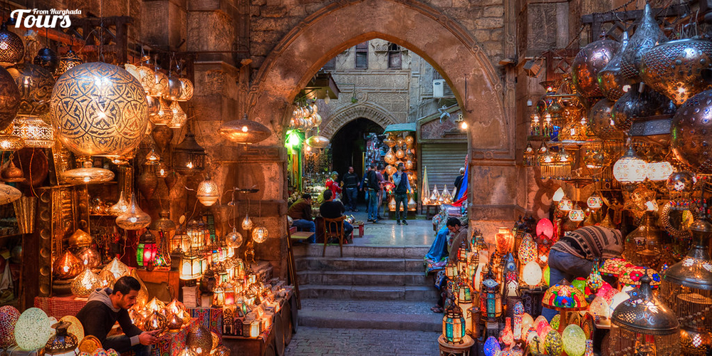 Khan El Khalili Bazaar - History of Cairo City - Attractions of Cairo City - Things To Do In Cairo City - Tours From Hurghada