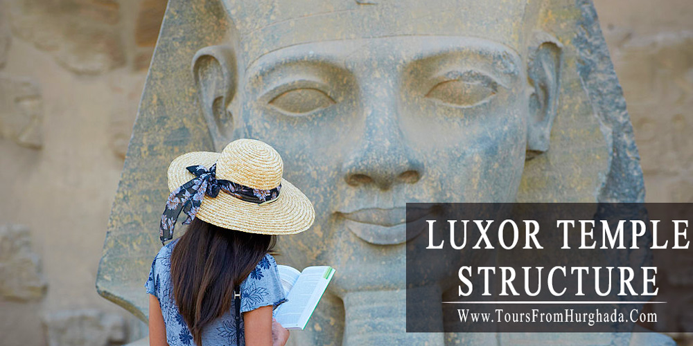 Luxor Temple Architecture - Luxor Temple - Tours from Hurghada