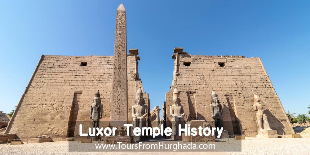 Luxor Temple History ToursFromHurghada