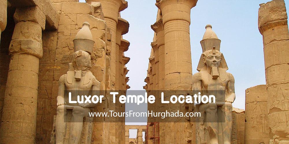 Luxor Temple Location ToursFromHurghada