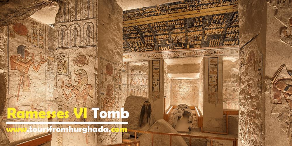 Ramesses VI Tomb ToursFromHurghada