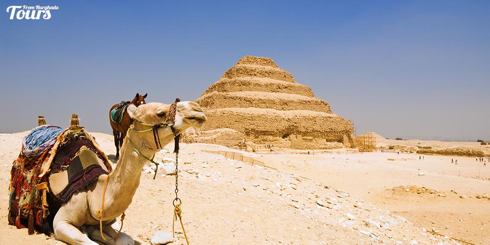 Saqqara Pyramid Architecture - Saqqara Pyramid Facts - Step Pyramid of Djoser - Tours From Hurghada