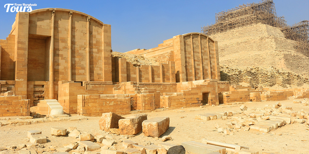 Saqqara Pyramid Facts - Saqqara Pyramid Facts - Step Pyramid of Djoser - Tours From Hurghada