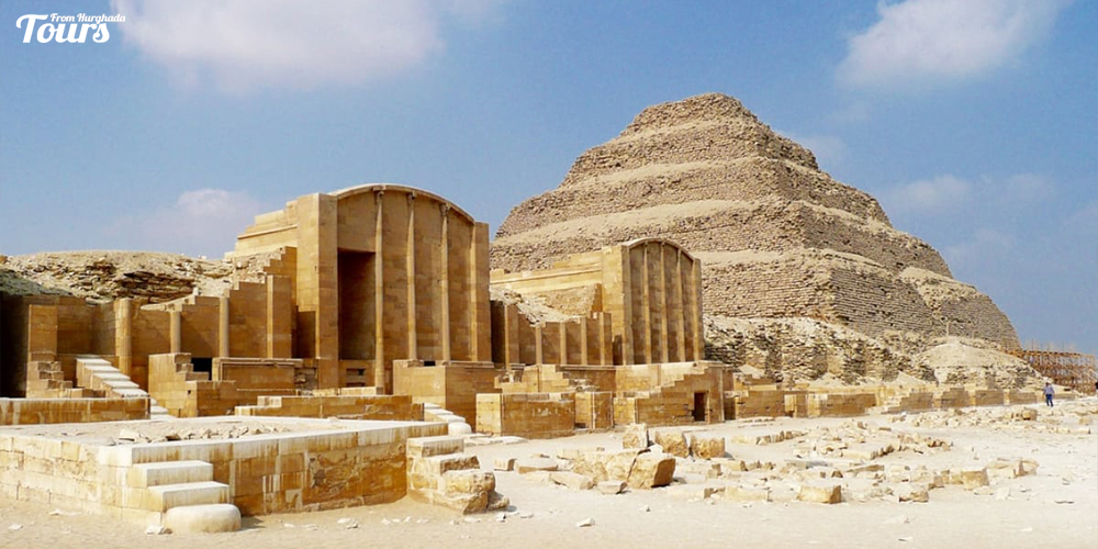 Saqqara Step Pyramid - History of Cairo City - Attractions of Cairo City - Things To Do In Cairo City - Tours From Hurghada