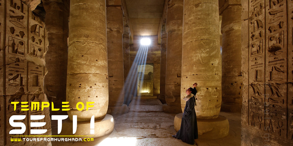 Temple of Seti I - Abydos Temple - Tours from Hurghada
