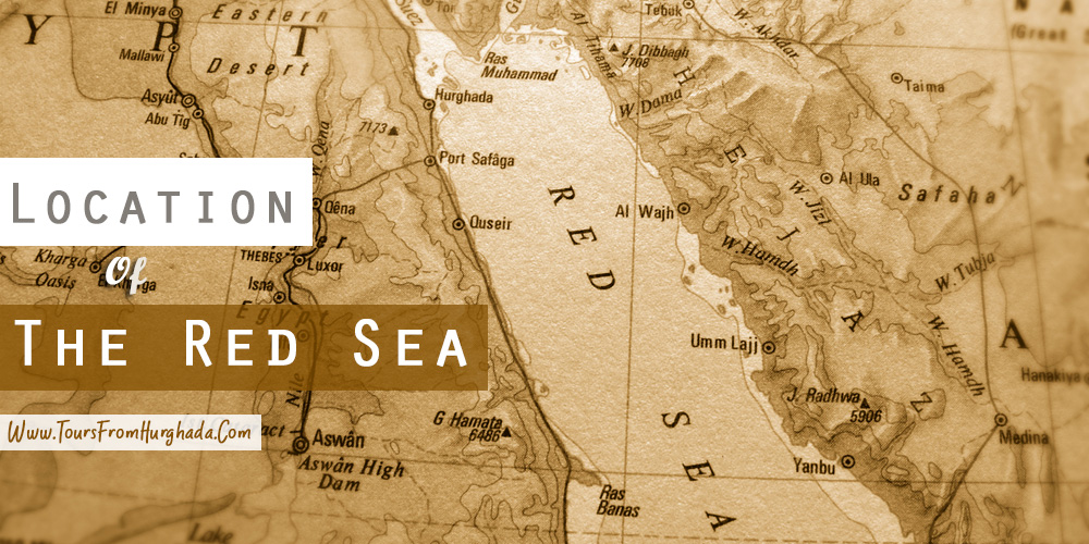 The Red Sea Location - Tours from Hurghada