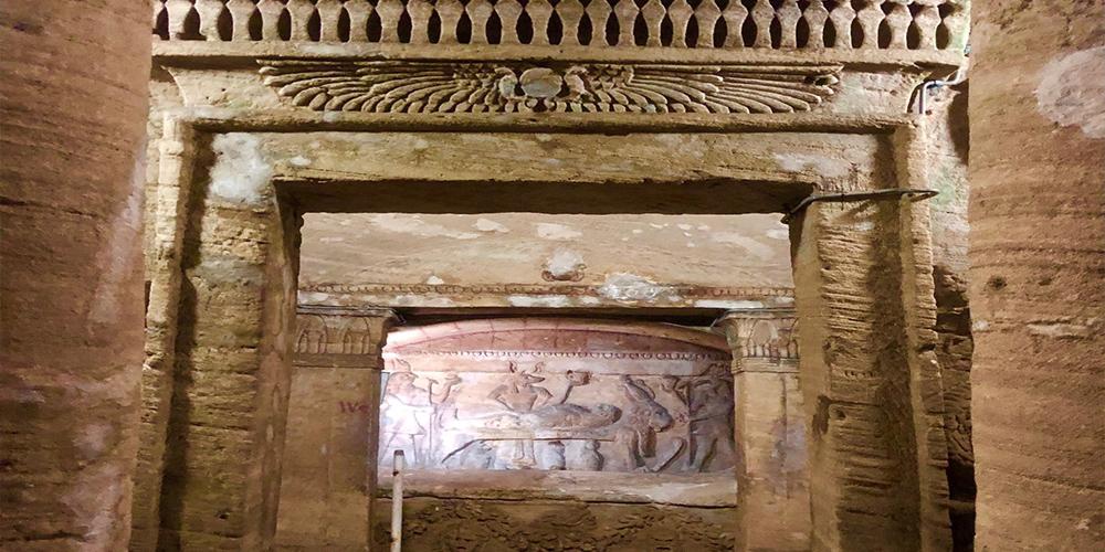 Alexandria Catacombs Design - ToursFromHurghada