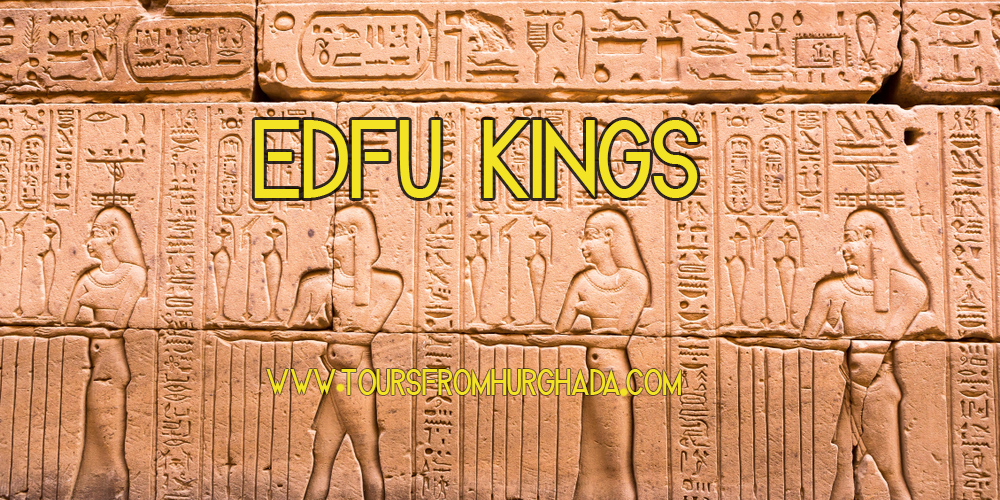 Edfu Temple Kings Architecture