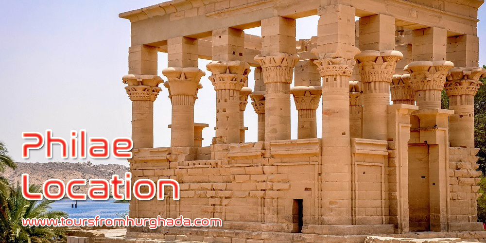 Philae Temple Location ToursFromHurghada