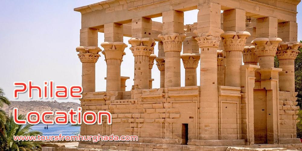 Philae Temple Location ToursFromHurghada