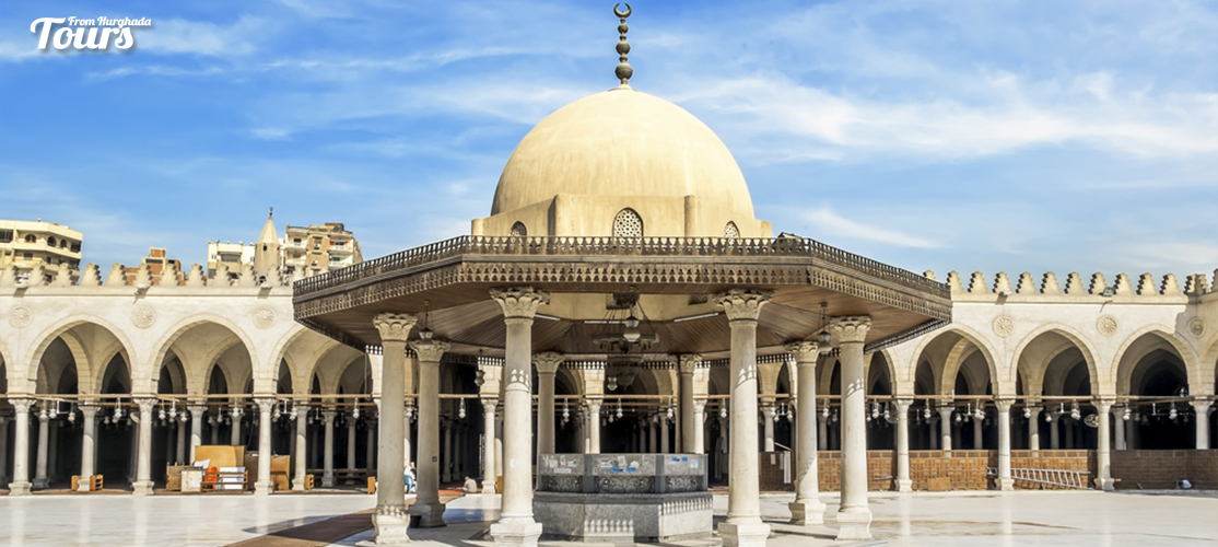 Amr Ibn Al-Aas Mosque - Three DaysTrip from Marsa Alam toCairo by Flight - Tours From Hurghada