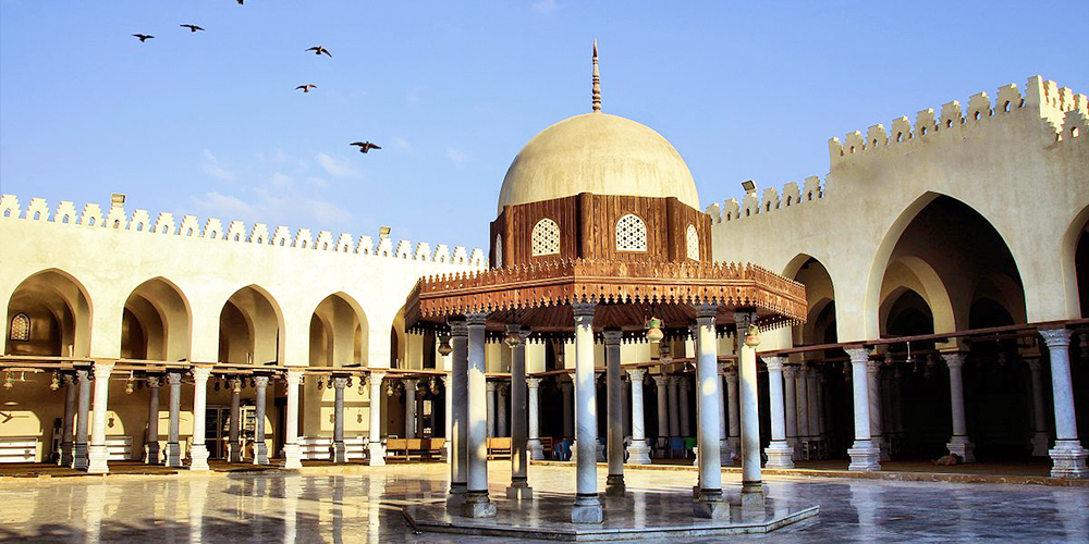 Amr Ibn Alas Mosque Three DaysTrip from Marsa Alam toCairo by Flight