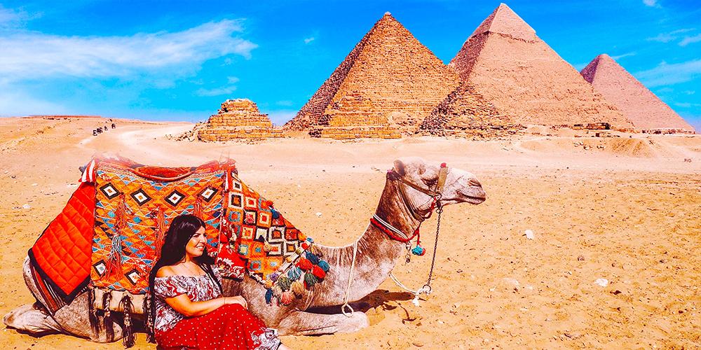 Giza Pyramids - Three DaysTrip from Marsa Alam toCairo by Flight