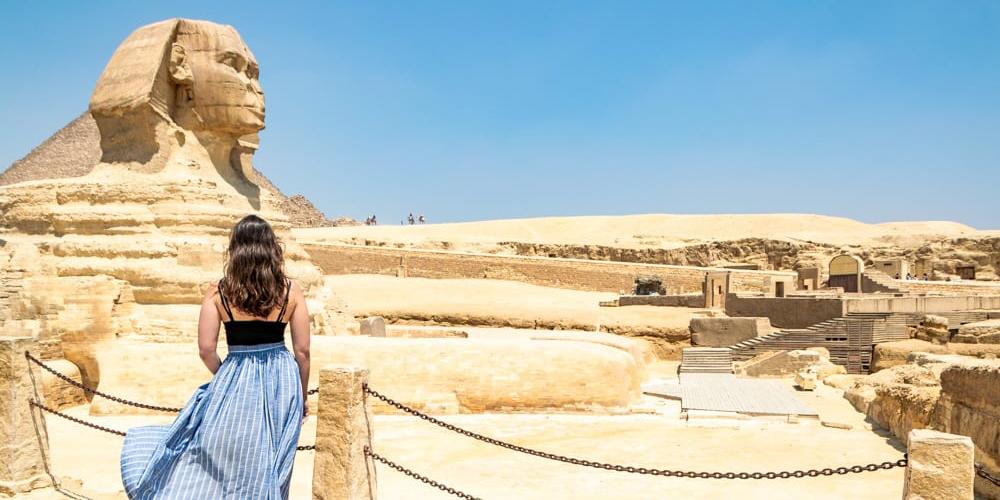 Giza Sphinx Three DaysTrip from Marsa Alam toCairo by Flight