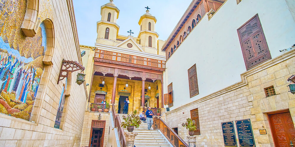 The Hanging Church Three DaysTrip from Marsa Alam toCairo by Flight