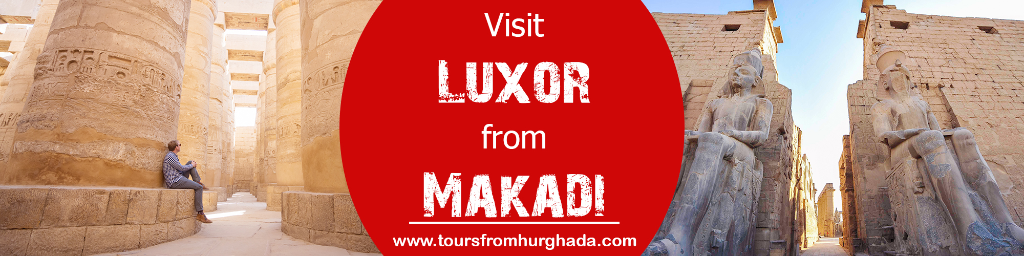 Trips to Luxor From Makadi Bay Tours From Hurghada