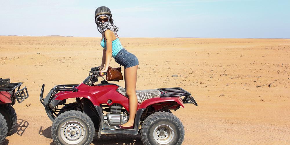 Sunset Quad Bike Desert Safari HurghadaExcursion - Tours From Hurghada