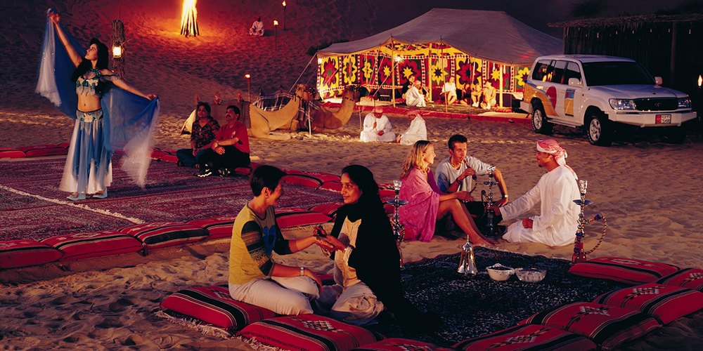 Bedouin Dinner - Desert Super Safari Excursions By Jeep From El Gouna - Tours from Hurghada