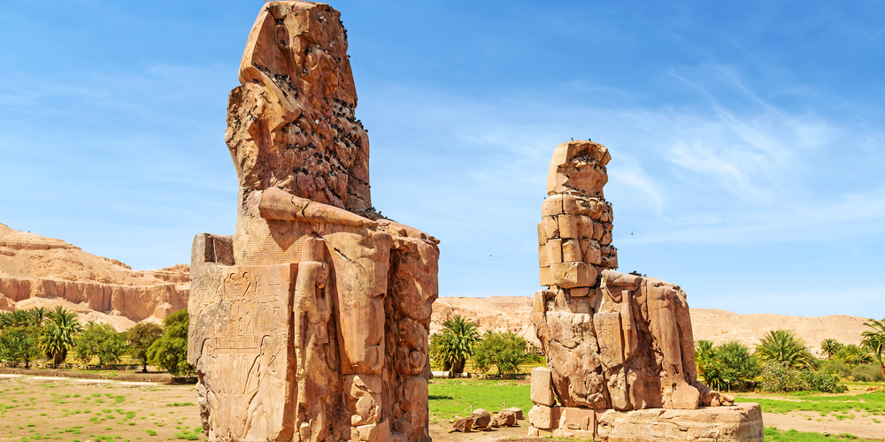 Colossi of Memnon - 2 Days Luxor, Aswan & Abu Simbel Tour from Port Ghalib - Tours from Hurghada