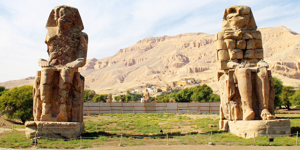 Colossi of Memnon - Luxor Day Tour from Port Ghalib - Tours from Hurghada